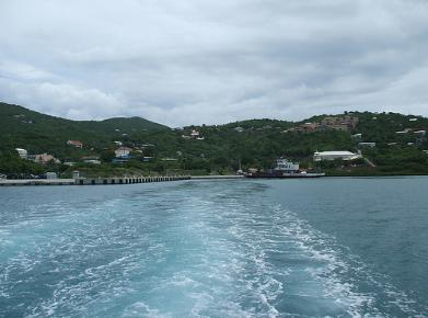 Leaving Coral Bay