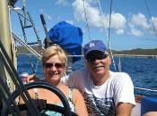 Bruce and Jan Sailing